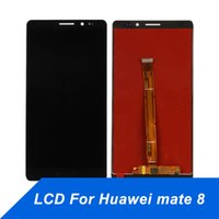 kostenlos huawei telefone großhandel-Handy Touch Panel für Huawei Kamerad 8 LCD Display Reparatur Touchscreen Digitizer Assembly Screen für huawei mate8 kostenloser versand