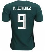 méxico futebol jersey tailândia venda por atacado-19-20 Customized Mexico Thailand Qualidade 9 R.Jimenez Camisa de futebol, 7 M.LAYUN 18 A.GUARDADO Chicharito 14 J.Hernandez 10 G.DOS SANTOS