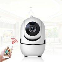 vision nocturne contrôlée à distance achat en gros de-Sécurité à la maison sans fil Mini caméra IP sans fil épouse 720P 1080P avec carte mémoire vision nocturne CCTV caméra bébé moniteur télécommande