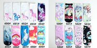 Wholesale Wholesale Golf Socks - Sports Socks 3D Printed Socks Men's Women Kids New Pattern Hip Hop Cotton Sock Unisex SOX Emoji Animal Cartoon Skull 100pcs=50pairs