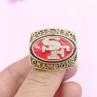 Wholesale Animals San Francisco - 2018 New fashion sports jewelry High Quality 2012 San Francisco Championship Ring Gifts For Men Free Shipping