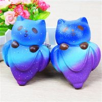 Wholesale Panda Ornament - Starry Sky Panda Squishy Decompression Toys PU Animal Squishies Slow Rising Anti Stress Toy Fun Kid Plaything 15rf C