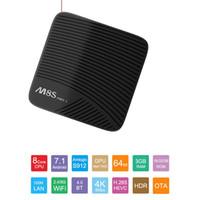 ingrosso a distanza-Mecool M8S Pro L Amlogic S912 Octa Core 3G / 16G o 3G / 32G con Remote Voice Os 7.1 Set top box