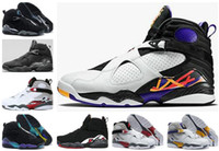 Wholesale bunny rubber for sale - New Aqua Chrome Playoffs Three Peat Champane Bugs Bunny Mens Basketball Shoes Sneakers Cheap s Basket Ball Athletic Shoes