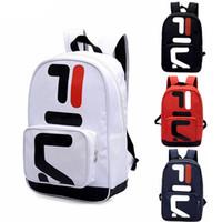 Wholesale computer satchel resale online - Brand designer Backpack Fashion Casual Unisex Travel Bag handbags Couple Backpack Student Bag Computer Bag