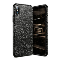 Wholesale Thin Shell - Luxury Mosaic Case Cover For iPhone X Utral Thin Phone Shell For iPhone 8 7 6 Plus