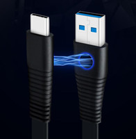 Wholesale Computers Chargers - Magnetic Type-C Male Connector to USB 3.0 Male Data Cable Port Data Sync fast Charging cable for Laptop Computer Charger