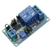 interruptor retrasado al por mayor-Retardo del relé de retardo de 12 V de CC con temporizador Encienda el módulo del interruptor de apagado