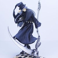 Wholesale anime toys black butler for sale - Donose Anime Black Butler Book of Circus Undertaker Kuroshitsuji PVC Action Figure Collection Model Kids Toy Doll
