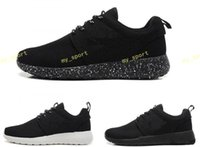 Wholesale free runing shoes resale online - Cheap Original Run Running Shoes Women and Men black white Runings Runing Shoe Athletic Outdoor Sneakers one Size36