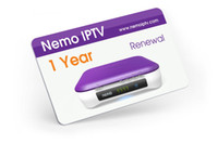 Wholesale Nemo IPTV Renewal Year Email delivery Only