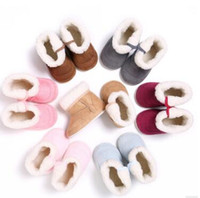 Wholesale baby shoes years online - Winter years old multicolor baby shoes non slip bottom warm snow boots baby shoes for colors
