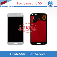 Wholesale lcd touch screen price - Wholesales Price LCD Display For Samsung S5 G900M G900F G900A G900 LCD Touch Screen Digitizer With free repaire tools and Free shipping