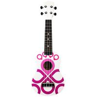 21-дюймовая гитара укулеле оптовых-21-дюймовый цветной гавайской гитары маленькая гитара оптом