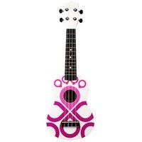 ingrosso chitarra a base di tulipani da 21 pollici-Commercio all'ingrosso della chitarra della chitarra di ukulele a 21 pollici di colore