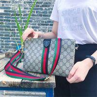 Wholesale Small Leather Hand Bag - Designer Fashion Luxury Handbags Women Shoulder Bags PU Leather Handbag Strap Striped Crossbody Ladies Hand Held Package Messenger Bags