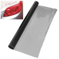 Wholesale black headlight cover - 30 x 120cm Car Styling Deep Grey Headlight Sticker Tail Brake Light Tint Vinyl Wrap Film Sheet Cover Sticker Protection