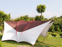 Wholesale Camping Gazebo Tent - New arrival high quality ultralarge 6.5m*6m*2.4m 8-10 person use sun shelter camping tent beach tent party gazebo