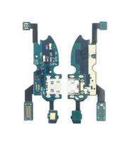 оригинальное зарядное устройство s4 оптовых-Полный оригинальный новый для Samsung Galaxy S4 Mini I9195 / S5mini G800f порт зарядного устройства разъем зарядки док-станции гибкий кабель запчасти