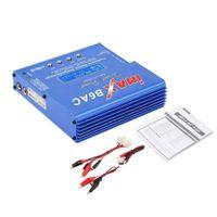rc lipo battery großhandel-Blau iMAX B6 AC B 6AC Lipo NiMH 3S RC-Akku-Ladegerät für RC-Hobby Li-Ion-Ni-Cd-RC-Akku-Waagen-Digitalladegerät