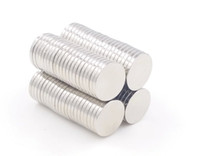 magneten zum verkauf kostenloser versand großhandel-Heißer Verkauf super starke runde Scheibe Zylinder 12 x 1.5mm Magneten seltene Erde-Neodym-freies Verschiffen 630pcs