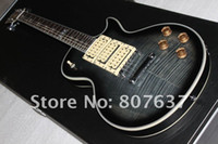 ingrosso chitarra asso-Nuovo stile Ace firma chitarra frehley, tastiera Ebony Ace frehley 3 pickup chitarra elettrica, corpo in mogano Flame Maple
