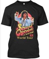 le monde le plus drôle achat en gros de-T-shirt drôle de chocolat sexuel Randy Watson World Tour 88