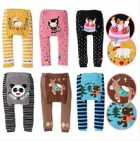 Wholesale cute trousers for sale - Group buy DHL new kids cute Toddler designs original Busha PP Pants Baby Warmer Leggings Tights Baby Trousers Toddler Pants C287