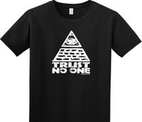 be2cbadd Details zu Trust No One Seeing Eye Funny T Shirt College Illuminati  Conspiracy Mason Geek Funny free shipping Unisex Casual. Supplier:  vectorbombb