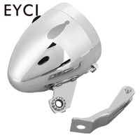 soporte universal del faro al por mayor-3 LED Bicicleta Bicicleta Faro Lámpara de luz delantera con soporte Retro Universal