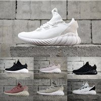 Wholesale womens lace boot socks - Best Womens Tubular Doom Sock Shoes Lightweight Sport Shoes Mesh Uper Factory Store Shoe Athletic Walking Sneakers Outdoor boots