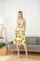 горячий секс с шифонами оптовых-Горячий секс женская одежда лето цветочный принт женщины шифон пляж платья