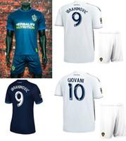 2018 LA Galaxy Soccer Jersey Shorts 18 19 Ibrahimovic GIOVANI Football  Shirts 17 18 Los Angeles Galaxy Away Thai Quality Soccer Uniforms 6b4f09e06