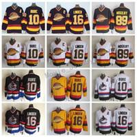4775f072b7a Wholesale trevor linden online - 16 Trevor Linden Jersey Men Vancouver  Canucks Vintage CCM Hockey Jerseys
