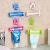 extrusora venda por atacado-Originalidade Rolling Squeezer Otário Titular Toothpaste Suprimentos Multi Função Mildy Lavar Manual Extrusora Casa de Banho 1 2zr ff