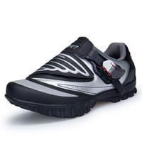 ouro preto mtb venda por atacado-Meninos Absorção de Choque Sapatos de Ciclismo Respirável Crianças Não-Slip Ciclismo Estrada Sapatos de Bicicleta Confortável Sneaker AA11235