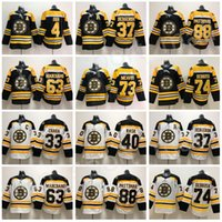 Wholesale stop ice - Boston Bruins 73 Charlie Mcavoy Jersey Jake DeBrusk Zdeno Chara Patrice Bergeron Brad Marchand Bobby Orr Cam Neely David Pastrnak Hockey Man
