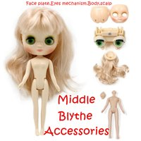 Wholesale Nude Toys - Fortune Days Nude Factory Middle Blyth doll Accessories for the Middle Blyth doll suitable for change toy Neo