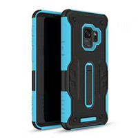 Wholesale coolpad cell phones - Anti-Knock Case for LG Stylo 4 Cover Hybrid Kickstand Cell Phone Cover for LG K10 2018 K30 Coolpad defiant 3632 Cases