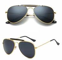 eski fiyat toptan satış-10 adet YENI Metal Çerçeve Reçine lens Marka Tasarımcısı erkek kadın plaj sürüş güneş gözlüğü UV400 Fabrika Fiyat Vintage klasik stiller ...