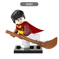 Wholesale figures toys harry potter - Harry Potter XH Action Figures Hermione Malfoy Lord Voldemort Professor Snape Draco Malfoy Blocks Gift Toys for children