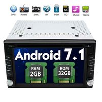 ingrosso impianto stereo stereotipo gps tv-Eincar 2 GB di RAM + 32 GB ROM Android 7.1 Autoradio Stereo Bluetooth Navigazione GPS 2Din In Dash 6.2 '' OCTA Core lettore DVD auto