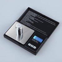 dijital elektronik cebi toptan satış-Mini Cep Dijital Ölçeği 0.01x200g Gümüş Sikke Altın Takı Tartı Dengesi LCD Elektronik Dijital Takı Ölçeği Denge