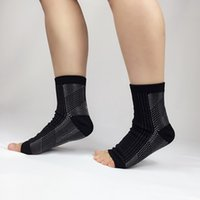 Wholesale best free logos - Free DHL Ankle Brace Sleeves Best Compression - Yoga Fitness Sprain Protection Basketball Football Ankle Protector Ankle Custom LOGO G457Q
