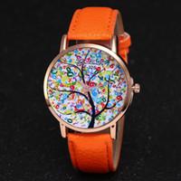 mädchen lederarmbänder zum verkauf großhandel-Heißer Verkauf Reloj Mujer Einfache Frauen Uhren Luxus Mode Lederband Analog Quarz Mädchen Damen Neue Mode Armband Uhren