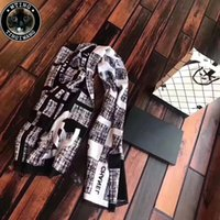 Wholesale Geometric Style Scarves - Good Quality Fashion 2018 New style Plaid Scarf Luxury Brand Thin Warm Cashmere Shawls and Scarves Winter Women Scarf