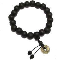 буддийские браслеты оптовых-Wholesale-Buddhist Tibetan Decor Prayer  Bracelet Bangle Wrist Ornament Wood Buddha  men Jewelry Religion Charm Buddhist Tibet