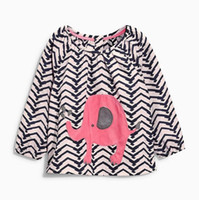 Discount cotton wholesale china - 2018 American football jerseys casual clothes the baby blouses for girls autumn 2018 winter clothing for girls Made In China factory