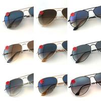 Wholesale fit sunglasses - Top quality fit aviator Polarized lens pilot Fashion Sunglasses For Men and Women Brand designer Vintage Sport Sunglasses DHL 990001