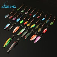 Wholesale trolling spinners lures for sale - Group buy Bobing Fishing Lure accessories Minnow Spinner Spoon Metal Artificial Bait tackle Hooks Spinner Spinners Y1892114
